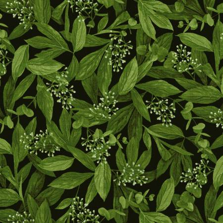 30143 Peony Leaves & Buds