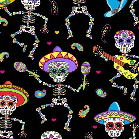 Bright Dancing Day of the Dead