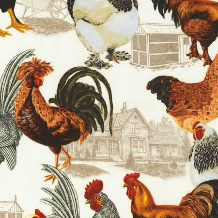 Foam Country Chicken Coop Toile