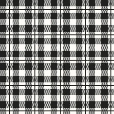 Yes Please Plaid Black