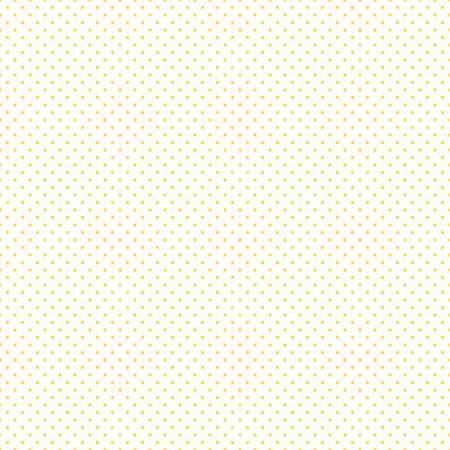 RILEY BLAKE SWISS DOT YELLOW ON WHITE