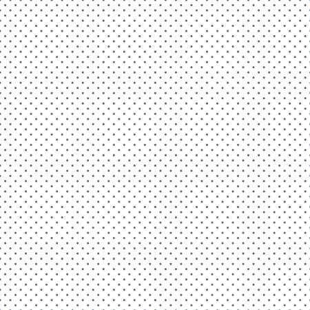 Swiss Dot On White Steel