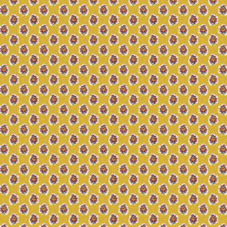 RILEY- Fleurs Cameo Yellow