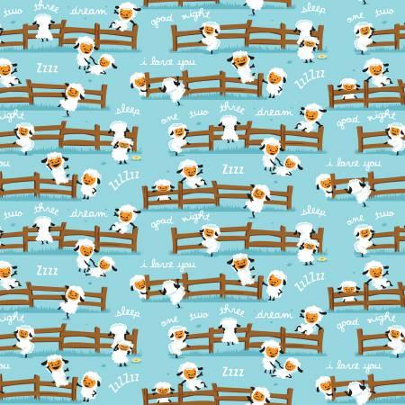 Harmony Farm Sheep Dream Blue