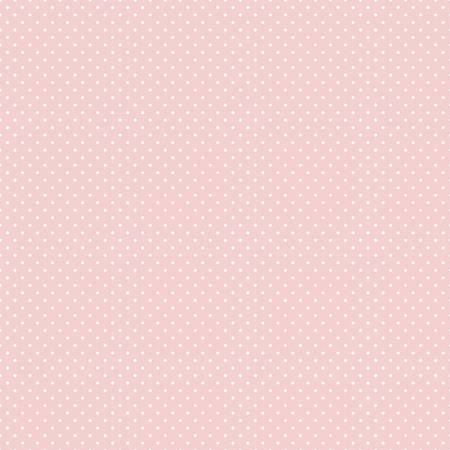 SWISS DOT WHITE ON BABY PINK