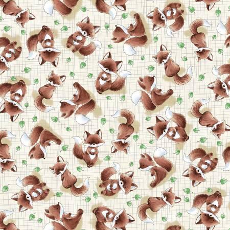 Taupe Fox