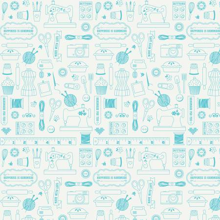 Item#10292.C - Happiness Is Handmade - Riley Blake - Lori Whitlock - Bolt#10292.B