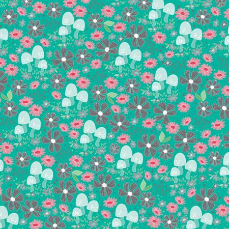 Flora Garden Teal