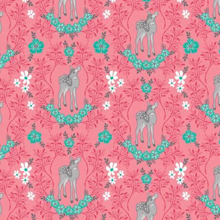Flora Deer Pink