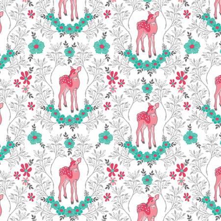 Flora Deer White