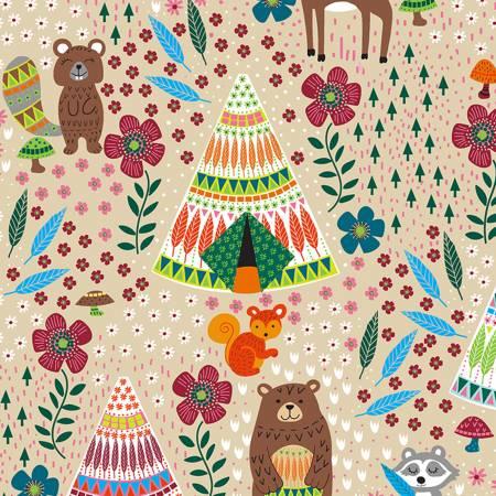 Latte Forest Animals