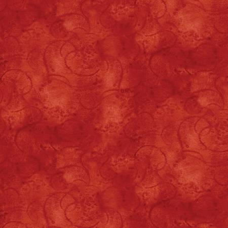 Painter's Watercolor Swirl - Red
