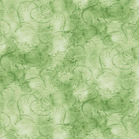 Painter's Watercolor Swirl - Sage
