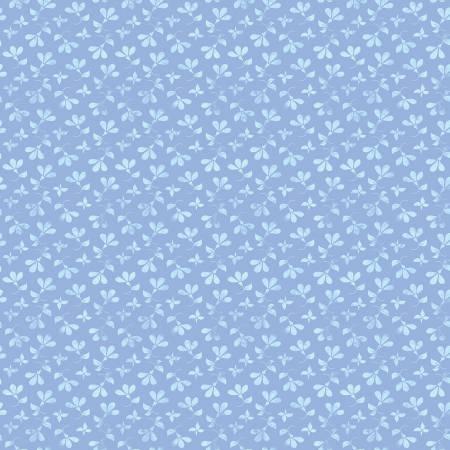 RILEY- Berkshire Garden Toss Periwinkle w/Aqua Florets