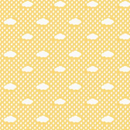 Bloom Rain Clouds Yellow