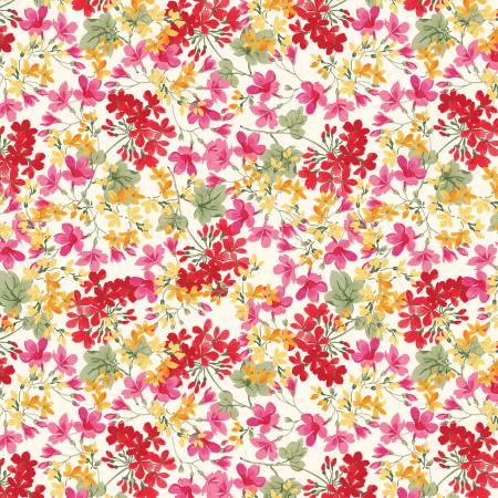 Penny Rose - Farmhouse Floral Cream C6881