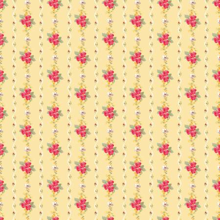 Penny Rose - Farmhouse Stripe Yellow C6882