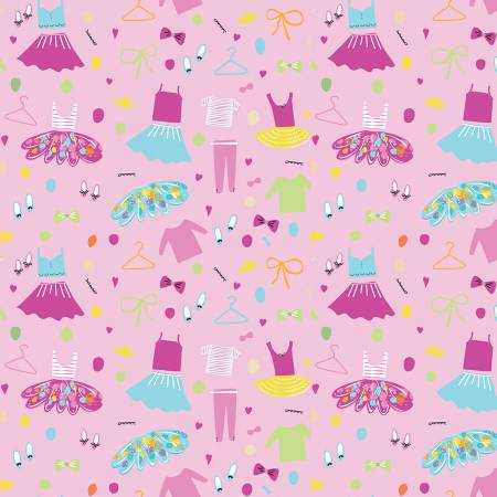 RILEY- Ballerina Wardrobe Pink
