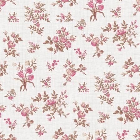 Rose Bunches Cream