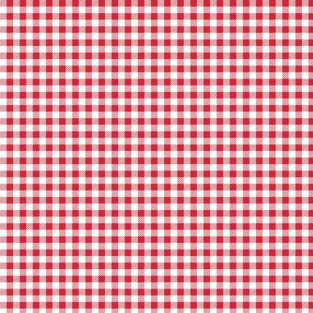 Bake 2 Gingham Red C6988