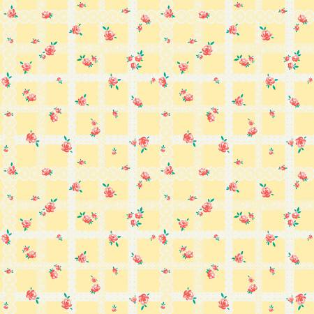 Bunnies Lace Yellow