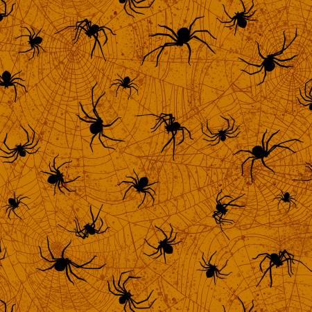 Halloween Spiders BOO-C7083 Orange