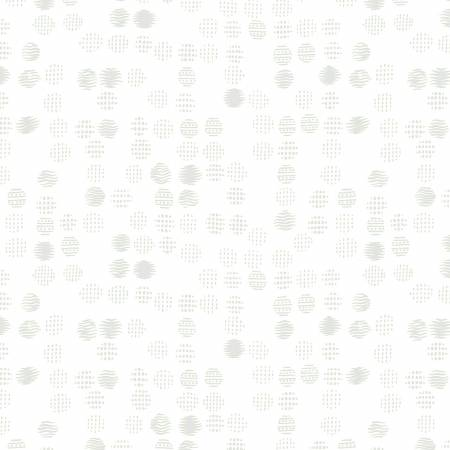 Hue - White Textured Dots