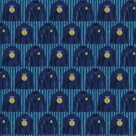 Riley Blake Designs FFA Forever Blue FFA Jacket