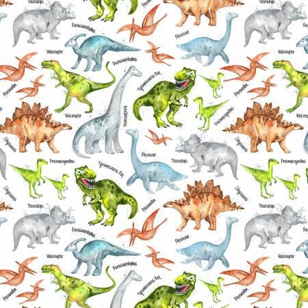 Dinosaurs ~ White