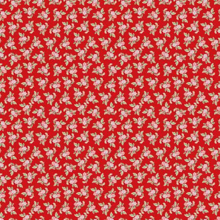 Jardin Floral Red