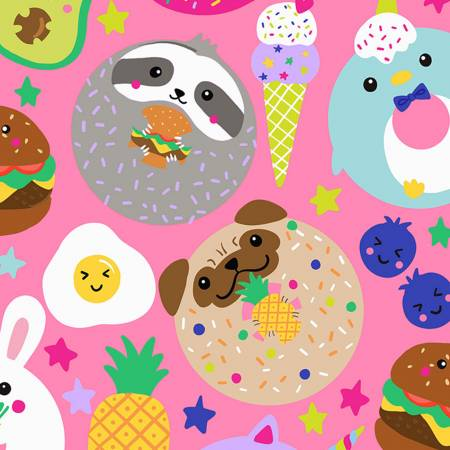 Pink Food & Animals TT112719