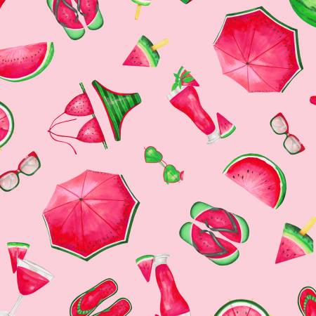 Pink Watermelon Party Toss C7332-PNK