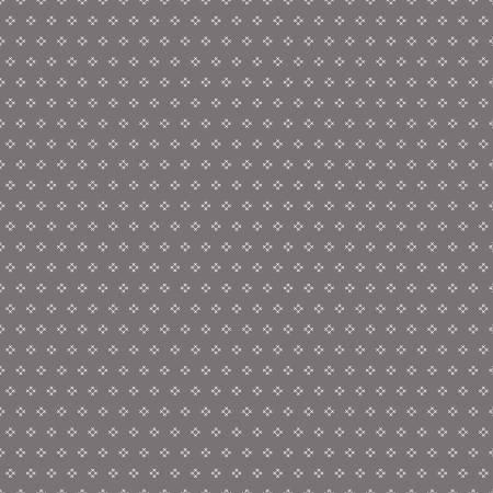 #Riley Blake Autumn  Cross Stitch Gray C7365