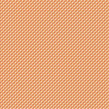 Autumn  Love Gingham Orange C7366 Orange Bolt 1+