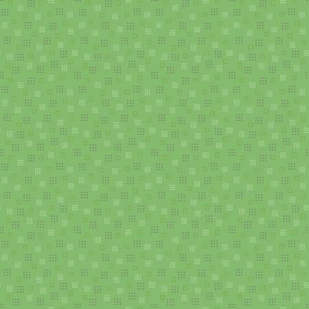 Autumn  Squares Green