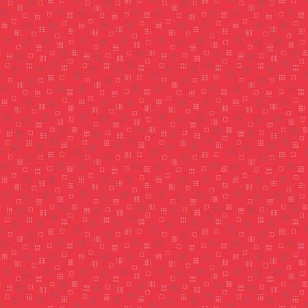 Autumn  Squares Red