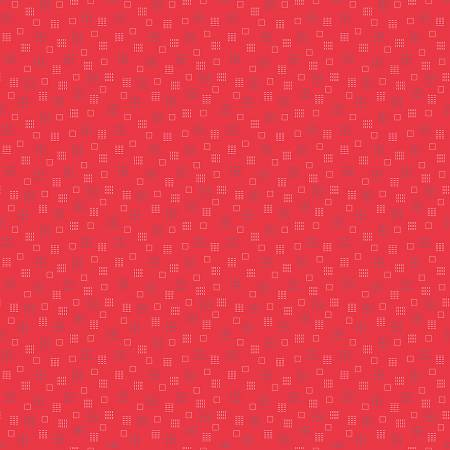 #Riley Blake Autumn  Squares Red C7368