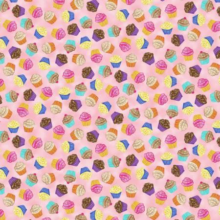 Cupcake Toss-Pink -7372