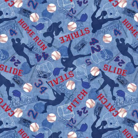 Blue Baseballs C7375-BLU