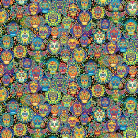 Multi-Sugar Skulls