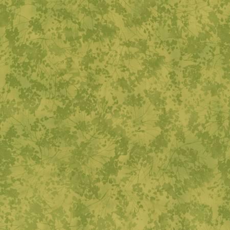Green Tonal Floral