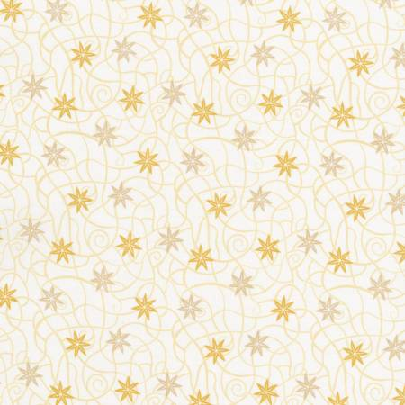 JN DESERT ROSE Cream Star Flower C7418
