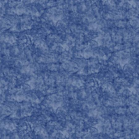 London Blues - Stamped Texture - Blue