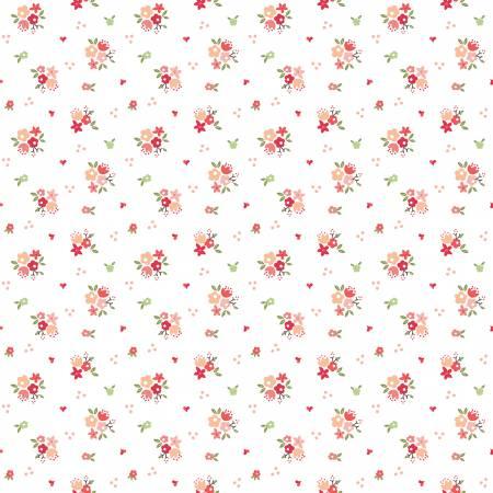 Summer Blush Bouquet White