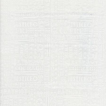 USA Patriotic Typography - Cream - C7449