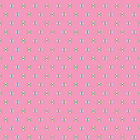 Simply Happy Honeycomb Pink