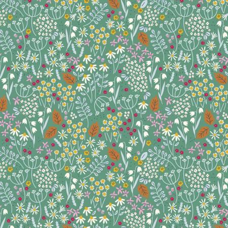 Bouquet Wildflowers Green
