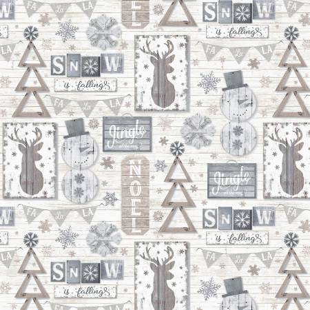 Snow is Falling Wall Hangings