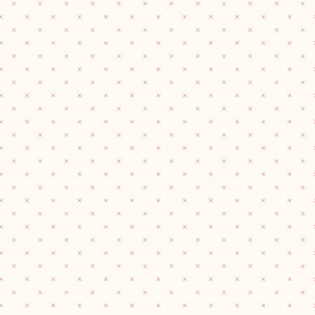 Bee Cross Stitch In Color Tearose