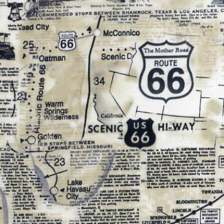 TT- Natural Route 66 Map